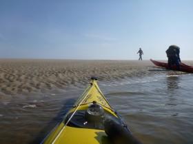 Sandbank vor Baltrum.