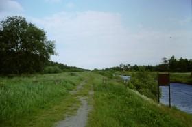 Pfad am Ems-Jade-Kanal