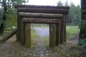 Eingang zur alten Gärtnerei