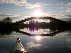 Brücke am Ems-Jade-Kanal