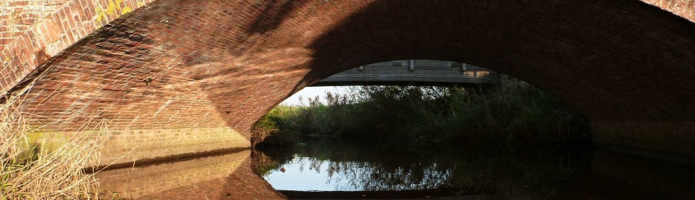 Schöne Backsteinbrücke.