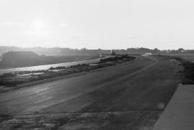 Neubau A31, Blick auf Emden