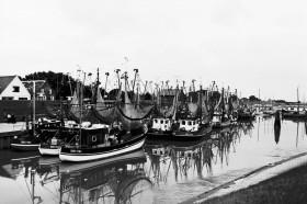 Hafen Greetsiel, ca. 1980