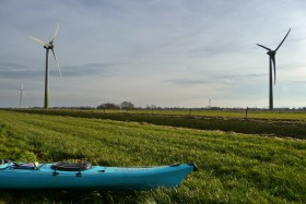 Start im Windpark