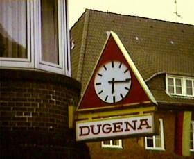 Morgens: Dugena-Uhr