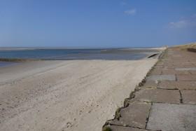 Zurück am Strand