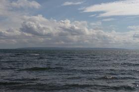 Blick zum Omberg (ca. 16 km)