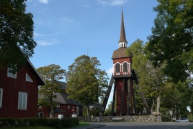 Holzkirche in Habo