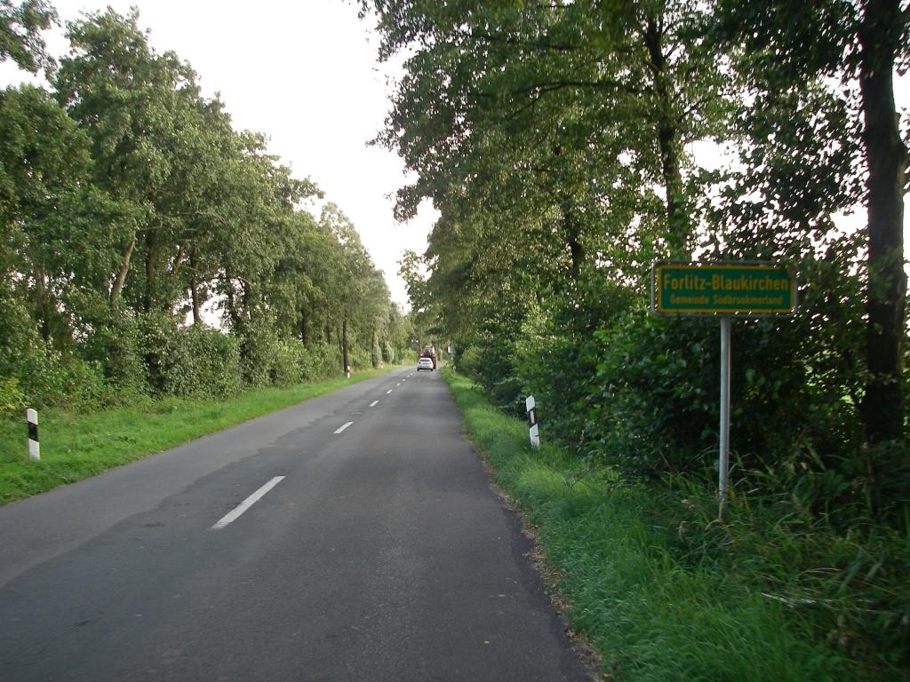 Ein paar Meter Haupststraße...