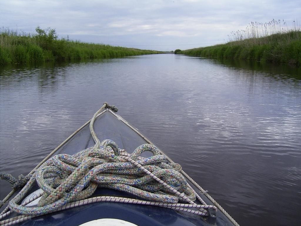 Sauteler Kanal: Langeweile...