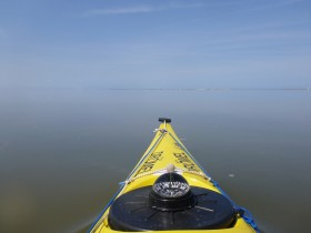 Die Grenze zwischen Wasser und Luft verschwimmt.