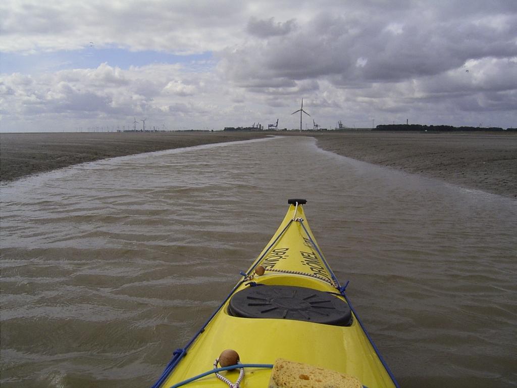 ...und Emden auf der anderen Seite.
