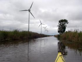 ...weiter durch den Windpark...