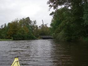 ...ist die Windmühle sichtbar.