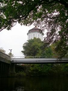 Der Wasserturm.