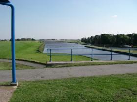 ...mündet die Westerwoldsche Aa...