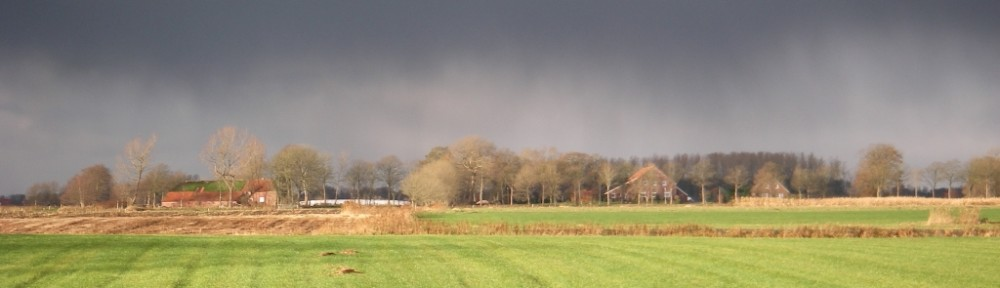 Gewitter über Barstede