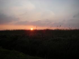 Tergast - Sonnenuntergang