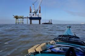 Seayak auf See
