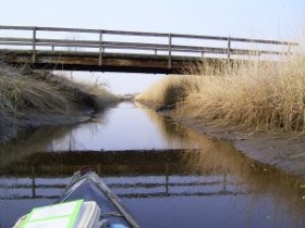 1. Brücke bei Heikeland
