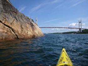 Tjörnbron (Tjörnbrücke), 43 m Durchfahrtshöhe