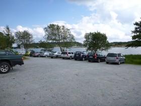 Parkplatz Almön - guter Startpunkt