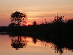 ...Sonnenuntergang.
