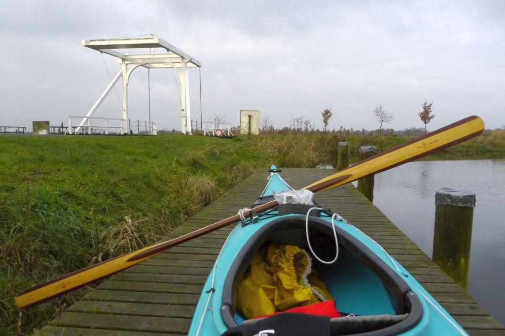 Schleuse und Brücke Langerack