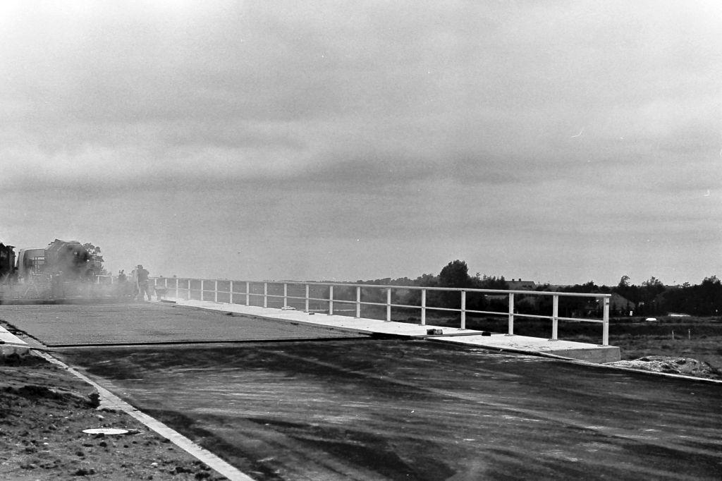 Neubau A31, Blick auf Uphusen, 1980