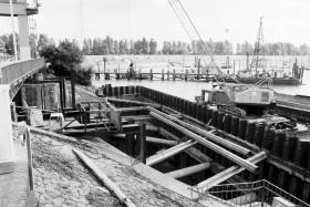 Nesserlander Schleuse, 1982