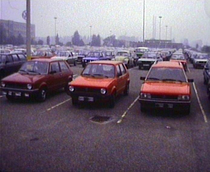VW Parkplatz