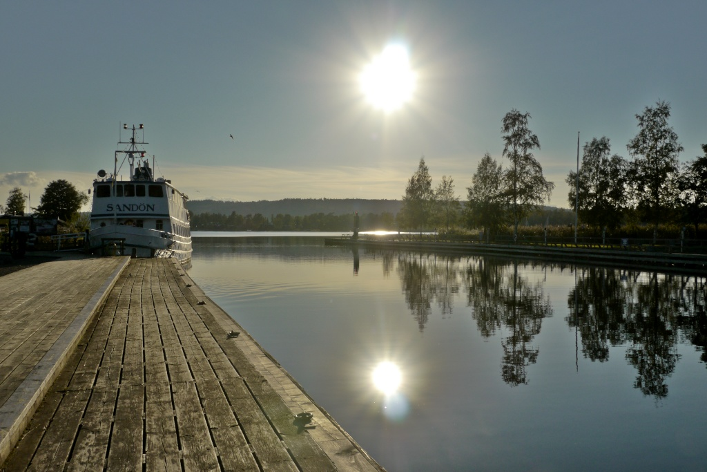 Götakanal bei Karlsborg